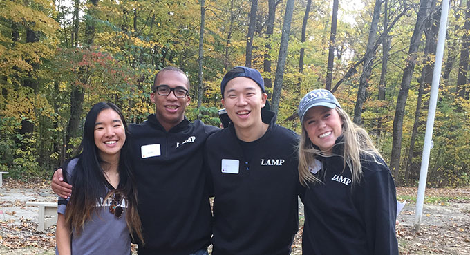 LAMP leadership summit, Bradford Woods (Oct. 2017).